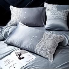 Комплект постельного белья Сатин-Шёлк DH005