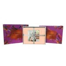 Постельное белье Однотонный страйп-сатин на резинке 002