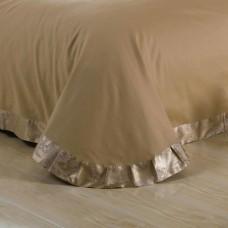 Комплект постельного белья жаккард с вышивкой H047 -4 наволочки