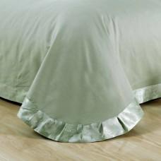 Комплект постельного белья жаккард с вышивкой H048 -4 наволочки