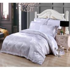 Комплект постельного белья жаккард с вышивкой H051- 4 наволочки