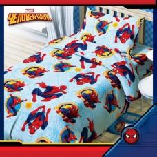 """Постельное бельё 1,5 сп """"Человек-паук"""",100% хлопок, бязь, 125 г/м2"""