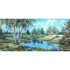 Пейзаж без уток 140х70