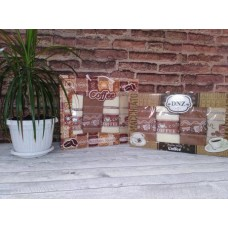 Набор салфеток GULCAN из 4 шт COFFE махра (40*60)