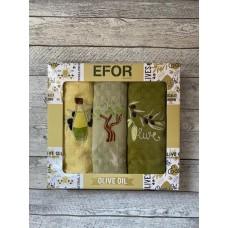 Набор салфеток EFOR из 3-х предметов 30x50