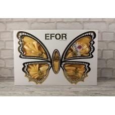 Скатерть Maison Royale KURDELELİ 160*220 8 салфеток (бабочка)