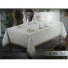 Скатерть KDK SET  8 салфеток