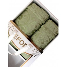 Набор полотенец EFOR BAMBOO TAC из 2х пр. (50*90,70*140) 100% бамбук
