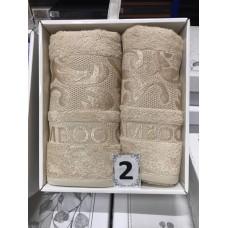 Набор полотенец OTTOMAN из 2х пр. (50*90,70*140) 100% бамбук