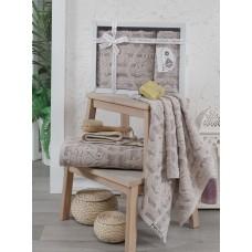 Комплект махровых полотенец 50х90 и 70х140