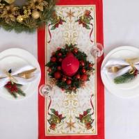 Дорожка на стол «Этель: Новогодняя сказка», 30 × 70 см, 100 % хлопок