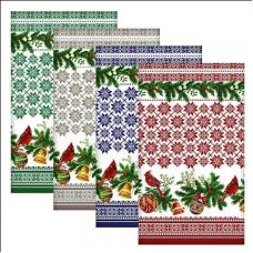 """Полотенце """"Новогодние узоры"""", размер 42x72 см"""
