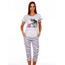 Пижама Котик с бриджами