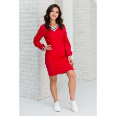 Платье в стиле спорт-шик. 0251
