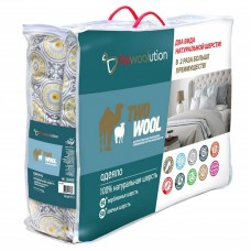 Одеяло «Two wool».,  всесезонное