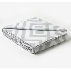 Одеяло байковое жаккардовое «Ромб»