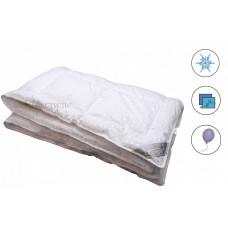 Одеяла иск.лебяжий пух в сатине, всесезонное