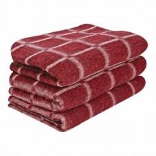 Одеяло полушерсть клетка