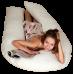 Подушка для всего тела • Comfort U / Комфорт У • 5 Block Латекс