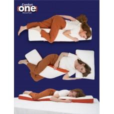 Подушка для всего тела Comfort One , Memoy Foam с памятью 145 x 28 x 11 см