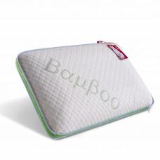 Подушка c эффектом памяти • Panda Green / Панда Грин • + наволочка 50 x 30 см