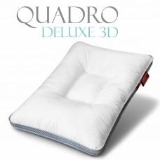 Эргономичная Подушка «Quadro De Lux 3D» средняя